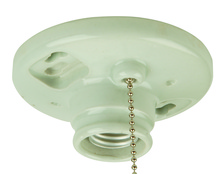 Craftmade K858-SO - Keyless Fixtures and Access. Keyless Lamp Holder in Porcelain