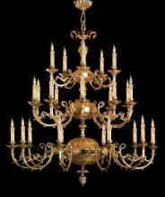 Crystorama 488-OB - Crystorama Etta 25 Light Olde Brass Chandelier