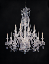 Crystorama 5028-CH-CL-MWP - Crystorama Traditional Crystal 16 Light Clear Crystal Chandelier