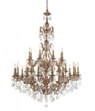Crystorama 5147-AG-CL-MWP - Crystorama Yorkshire 32 Light Clear Crystal Chandelier