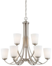 Minka-Lavery 4969-84 - 9 Light Chandelier