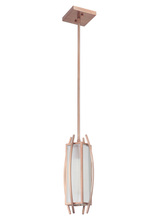 Craftmade 46030-BCP - Kodo 1 Light Small Foyer in Brushed Copper