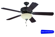 "Craftmade C208AG - Pro Builder 208 52"" Ceiling Fan with Light in Aged Bronze Textured (Blades Sold Separately)"