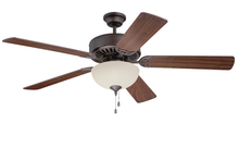 "Craftmade K11103 - Pro Builder 202 52"" Ceiling Fan Kit with Light Kit in Aged Bronze Textured"