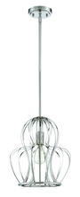 Craftmade P665CH1 - 1 Light Mini Pendant in Chrome