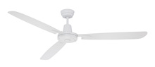 "Craftmade VE58W3 - Velocity 58"" Ceiling Fan with Blades in White"