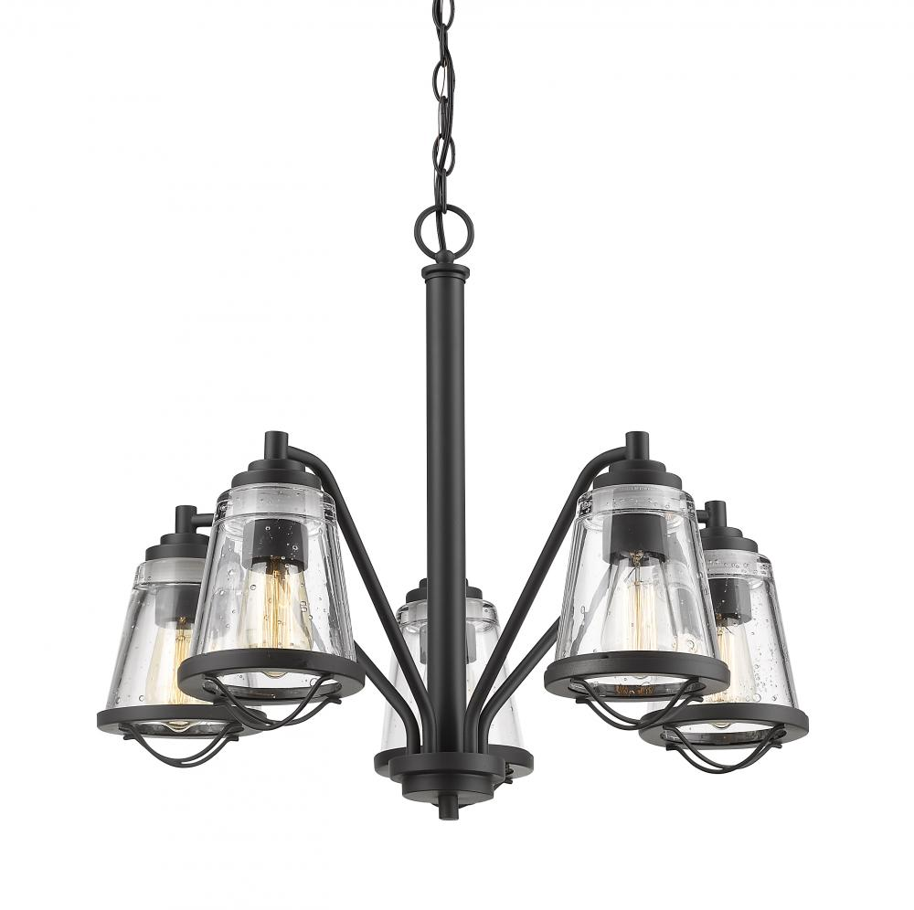 Paradise Lighting in Mississauga, Ontario, Canada,  304C2DZ, 5 Light Chandelier, Mariner