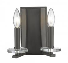 Z-Lite 2010-2S-BRZ - 2 Light Wall Sconce