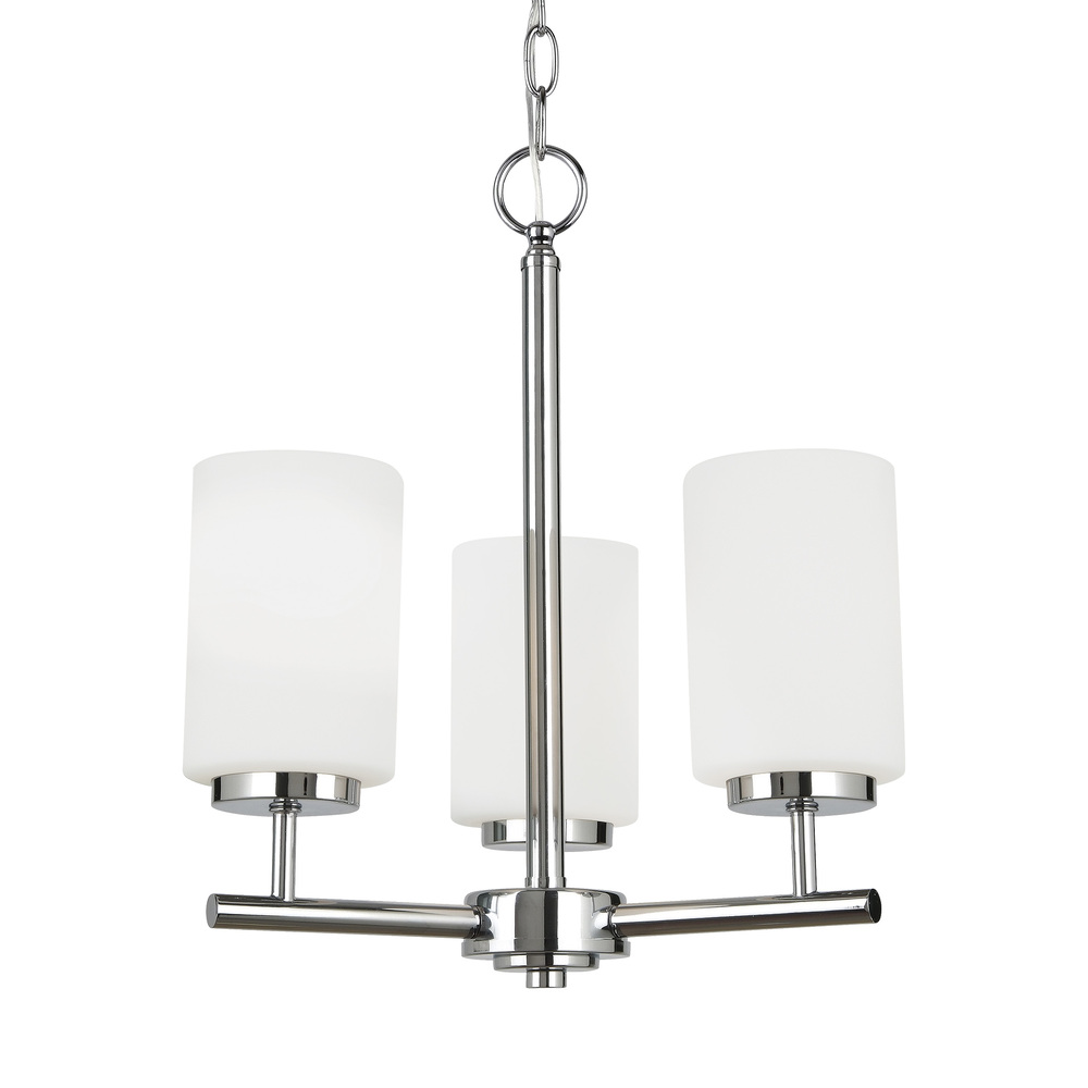 Paradise Lighting in Mississauga, Ontario, Canada,  305UN28, Three Light Chandelier, Oslo