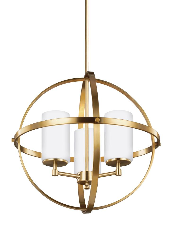 Paradise Lighting in Mississauga, Ontario, Canada,  3066PUT, Three Light Chandelier, Alturas