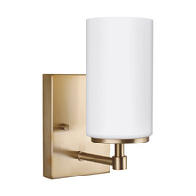 Sea Gull Canada 4124601-848 - One Light Wall / Bath Sconce