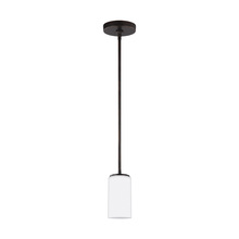 Sea Gull Canada 6124601-710 - One Light Mini-Pendant