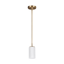 Sea Gull Canada 6124601-848 - One Light Mini-Pendant
