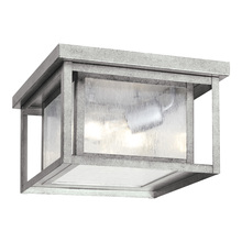 Sea Gull Canada 78027-57 - Two Light Outdoor Ceiling Flush Mount