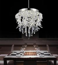 Crystal World 5452P17C-LED - LED Down Chandelier with Chrome finish