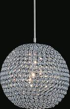 Crystal World QS8351P12C(T) - 1 Light  Mini Chandelier with Chrome finish