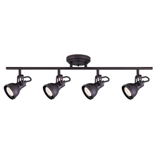 "Canarm IT622A04ORB10 - POLO, IT622A04ORB10, 4 Lt Track, 50W GU10, 29"" (W) x 8 1/2"" (H) x 5"" (D)"