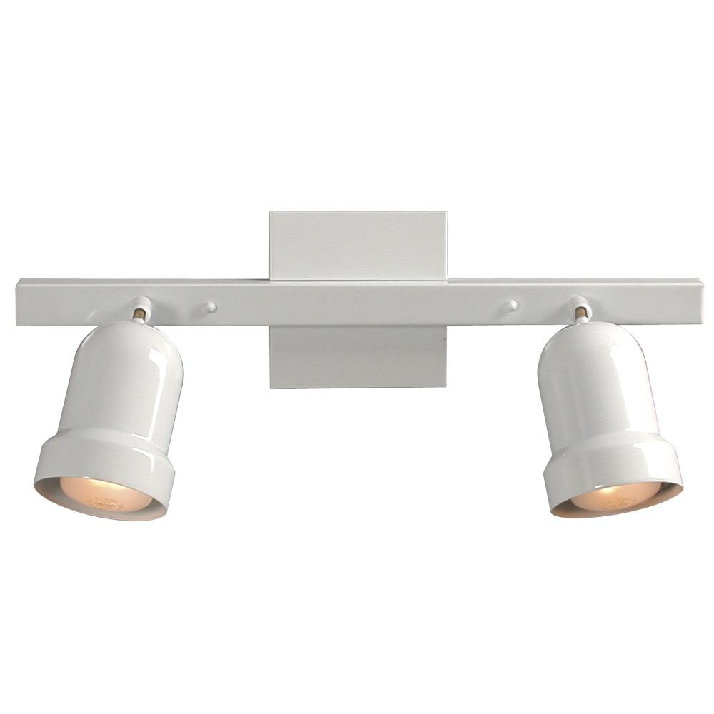 Paradise Lighting in Mississauga, Ontario, Canada,  6ULKJ, Two Light Track Light - White,
