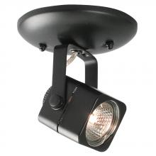 Galaxy Lighting 70318-1C BK - Single Halogen Monopoint - Black