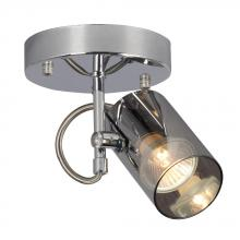 Galaxy Lighting 753237CH - 1-Light Spot Light - In Polished Chrome Finish With Chrome Mirrored Glass