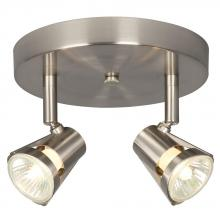 Galaxy Lighting 755598BN - Two Light Halogen Monopoint - Brushed Nickel