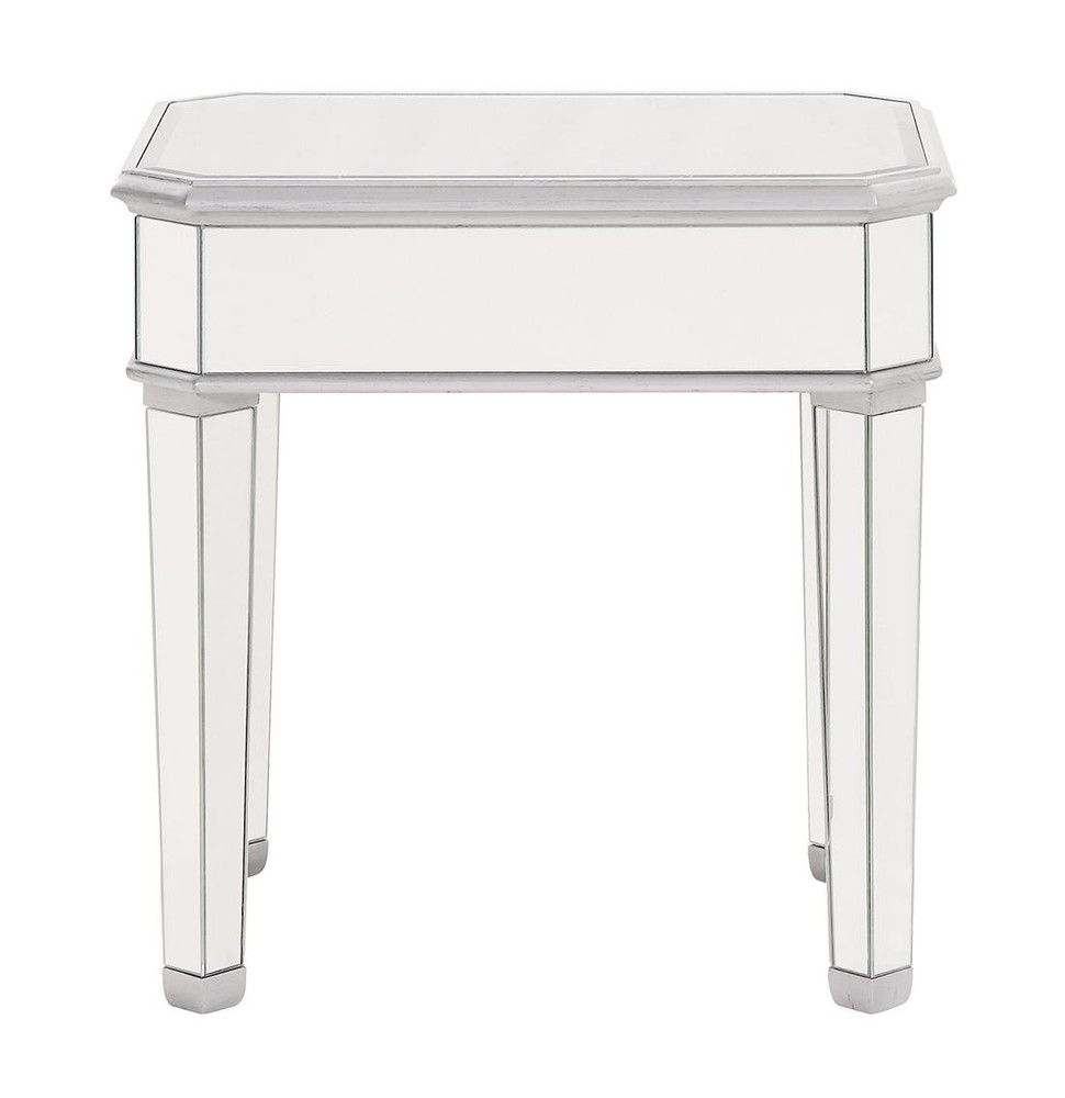 Paradise Lighting in Mississauga, Ontario, Canada,  HV41D, Lamp Table 26 in. x 20 in. x 26 in. in Silver paint, Contempo