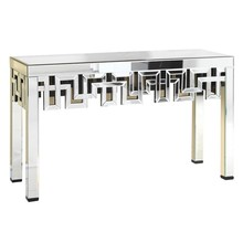 Elegant MF-3003C - Console Table 51.75 in. x 15.75 in. x 35.5 in. in Clear