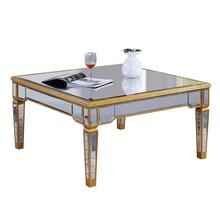 Elegant MF1-2002GC - Coffee Table 38 in. x 38 in. x 19 in. in Gold Leaf