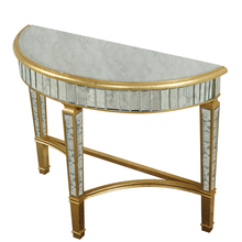"Elegant MF1-4001GA - Half Moon Table 42""x16""x32""H GA"