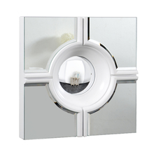 Elegant MR-3018W - Modern 24 in. Contemporary Mirror in White