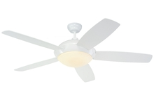 "Monte Carlo 5SLR52WHD-B - 52"" Sleek Fan - White"